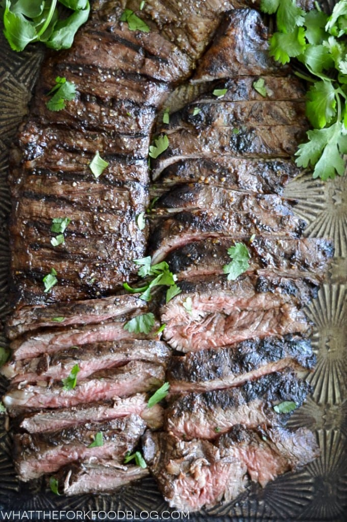 Marinate the less expensive, tougher cuts of steak and grill for a ...