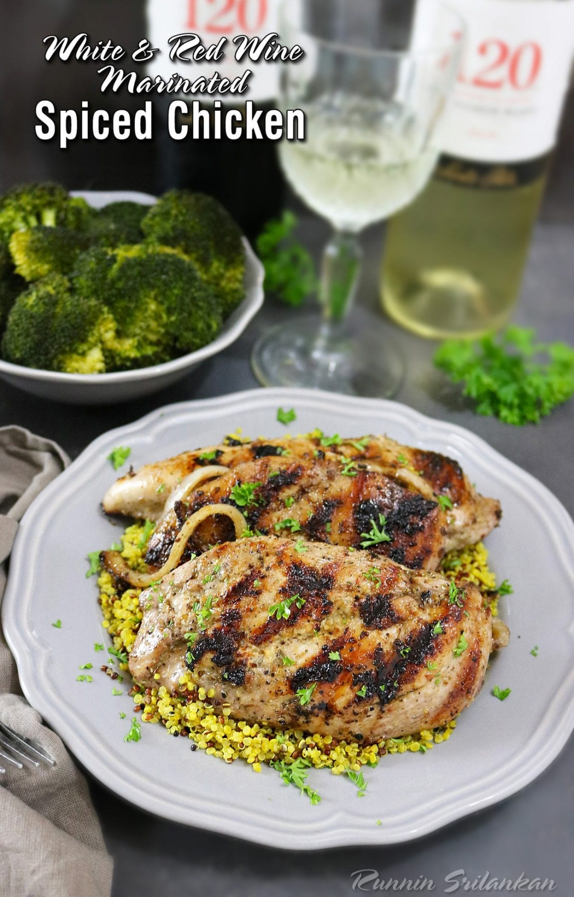 Wine Grilled Chicken