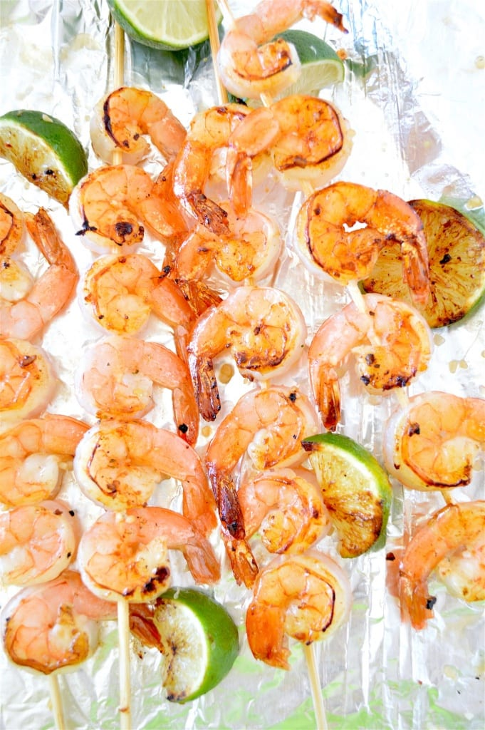 Lime and Honey Shrimp