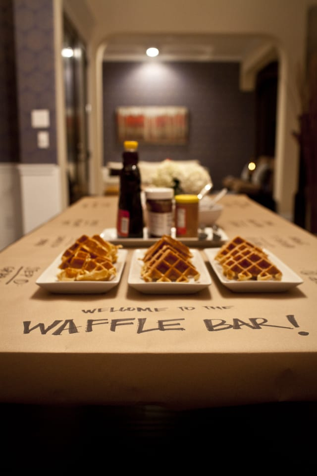DIY Food and Drink Bars Guests will Love