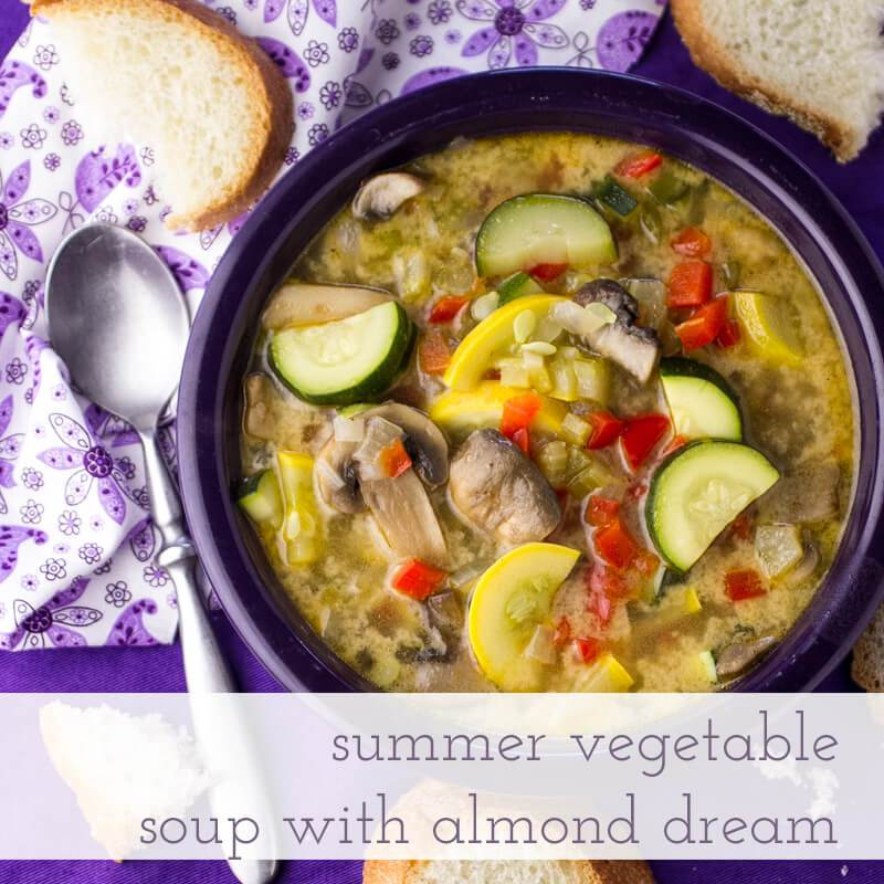 Light Summer Veggie Soup