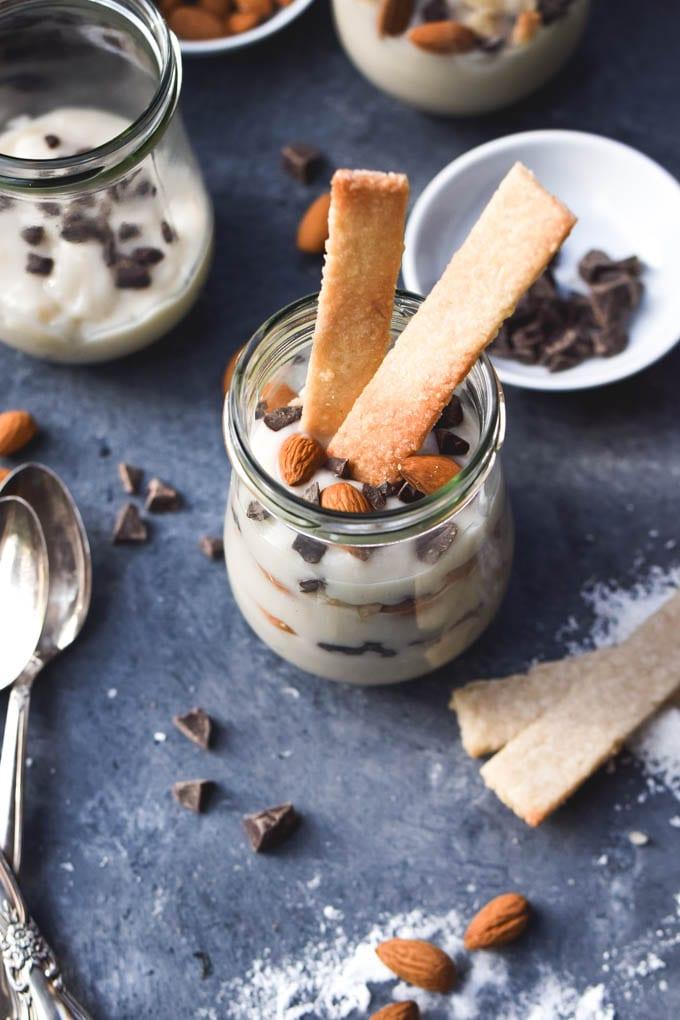 Almond Joy Pudding Parfait