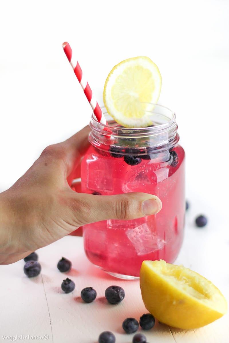 Blueberry Wine Cooler