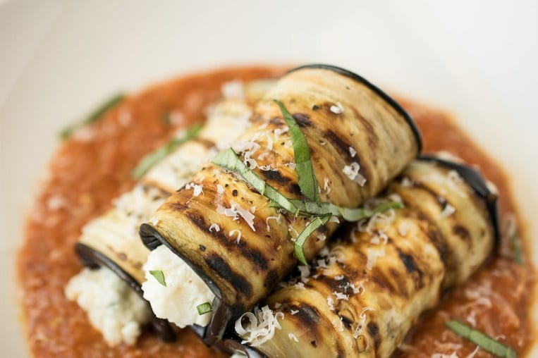Grilled Eggplant Rollatini is a summery twist on an Italian classic ...