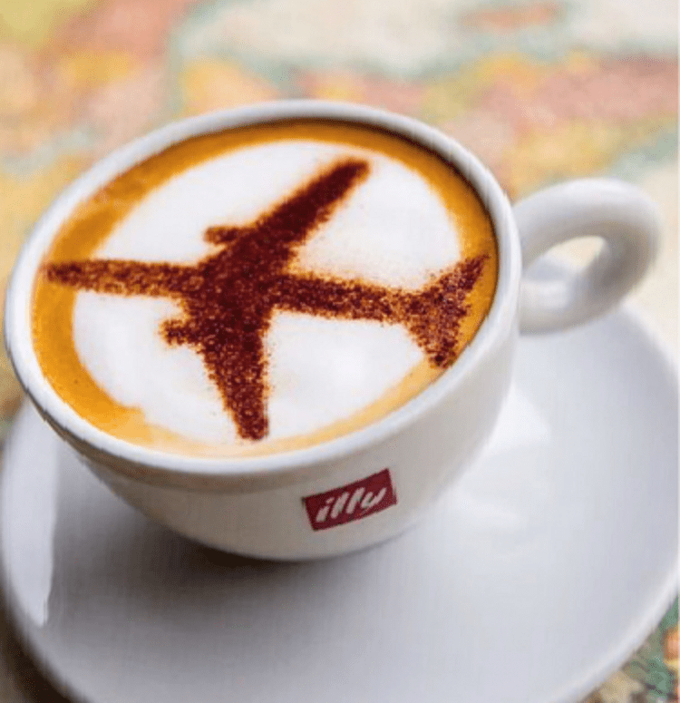 The Story of Coffee at 35,000 Feet