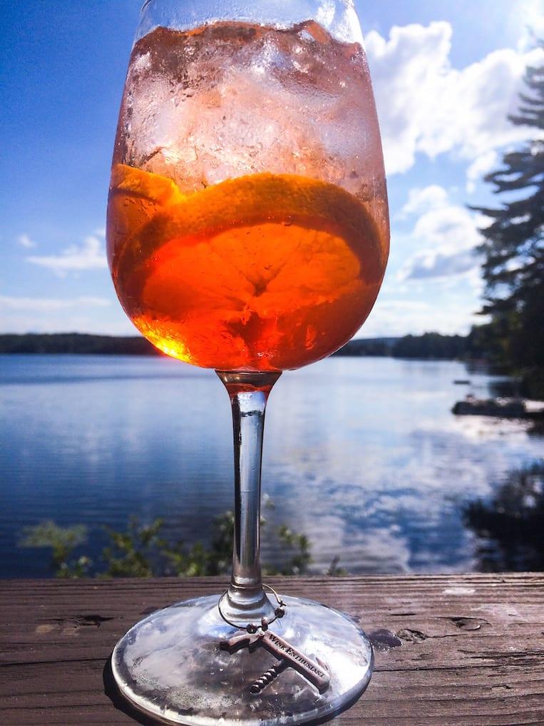 So Long Summer: Aperol Spritz