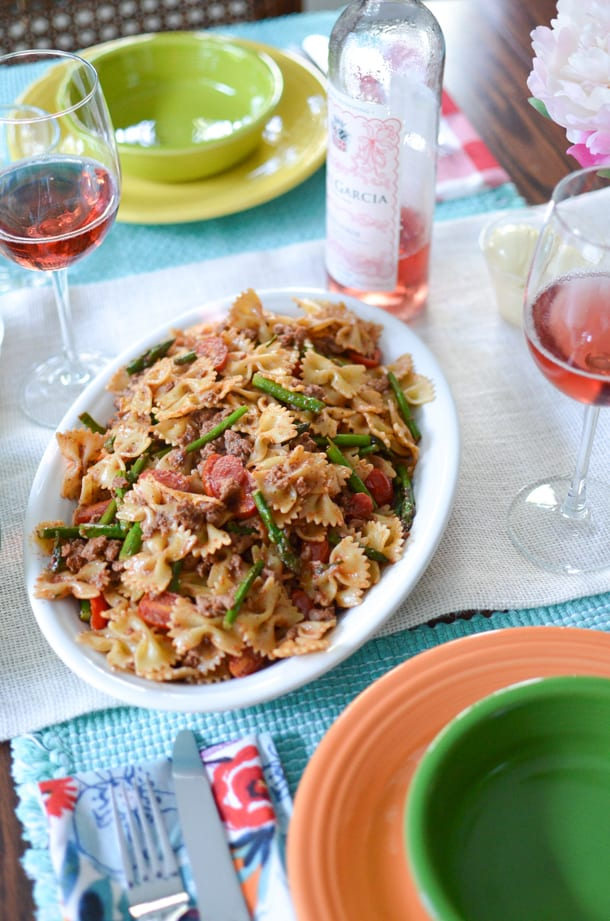 Sausage Pesto Pasta – Honest Cooking