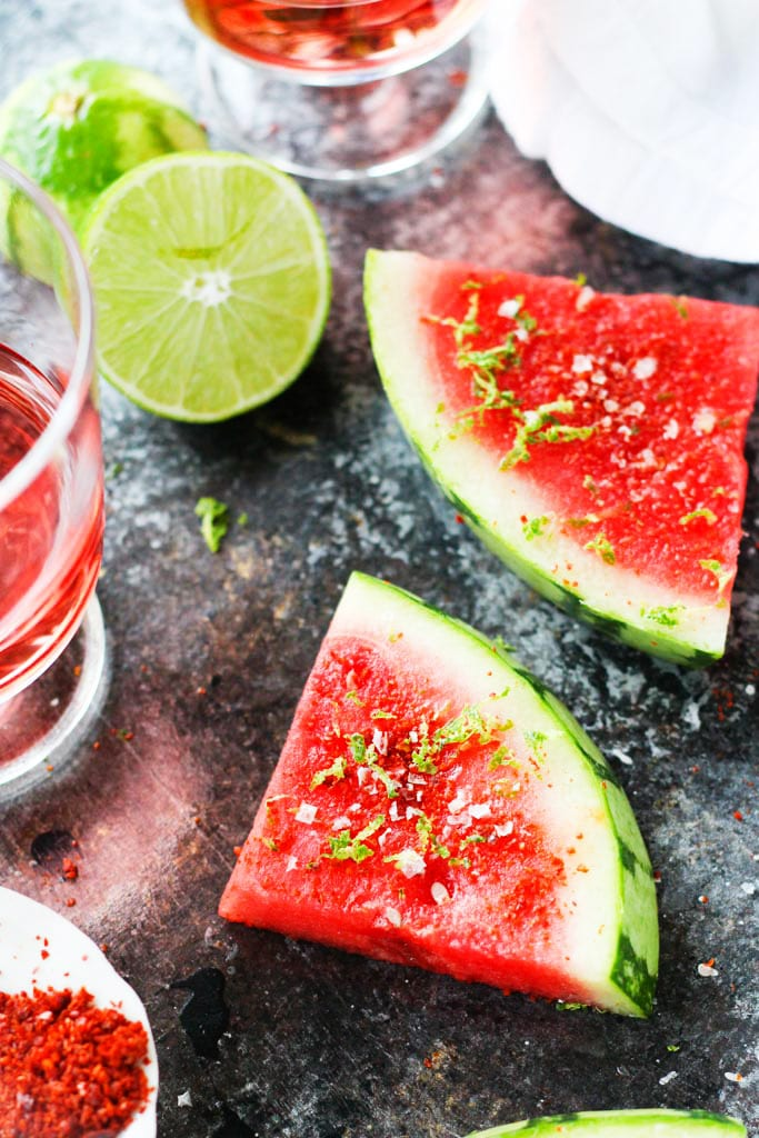 Spicy Lime Watermelon and Casal Garcia