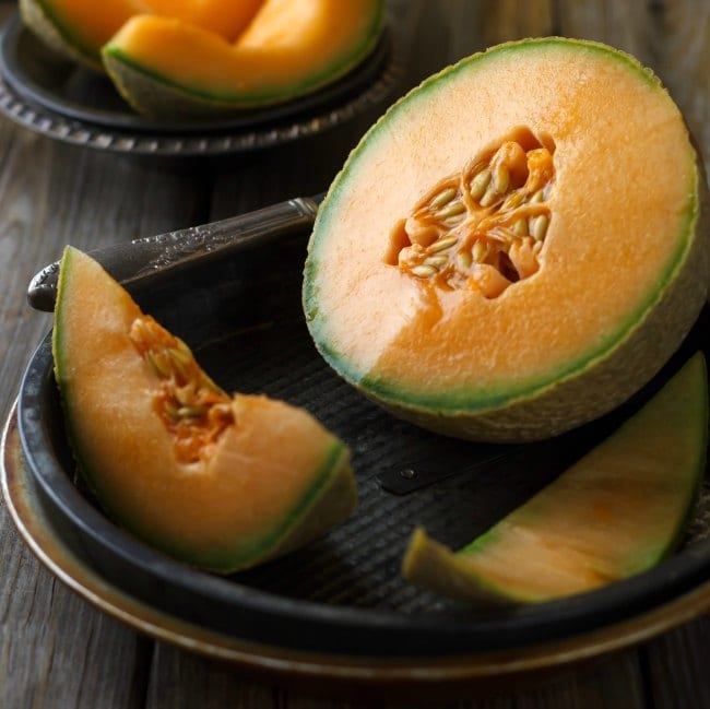 Cantaloupe and Orange Smoothie