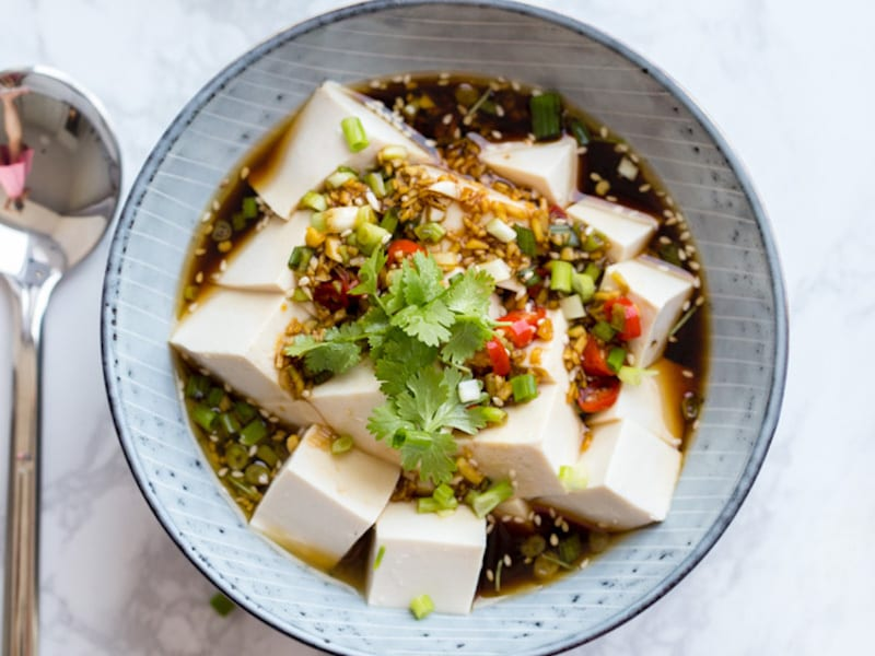 Spicy Cold Tofu – Honest Cooking
