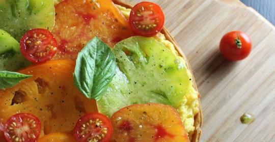 heirloom-tomato-goat-cheese-polenta-tart