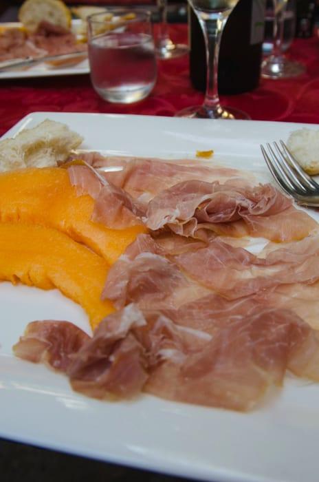Prosciutto from Montagnana
