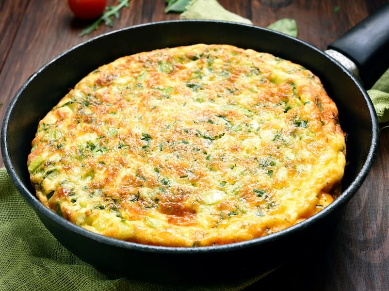 Basil and Ricotta Frittata – Honest Cooking