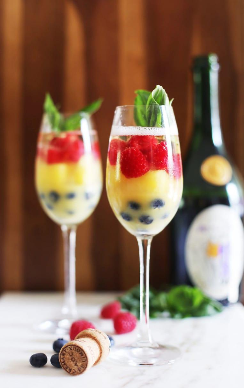 Fresh Fruit Mimosa