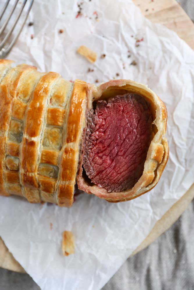 Get your hands on this recipe for an easier version of beef Wellington ...