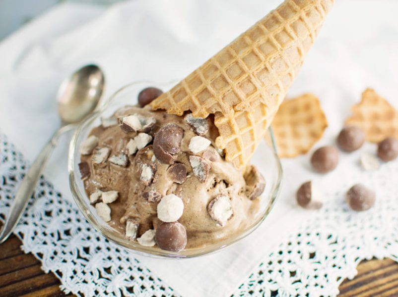Chocolate Malted Ice Cream Recipe — Dishmaps
