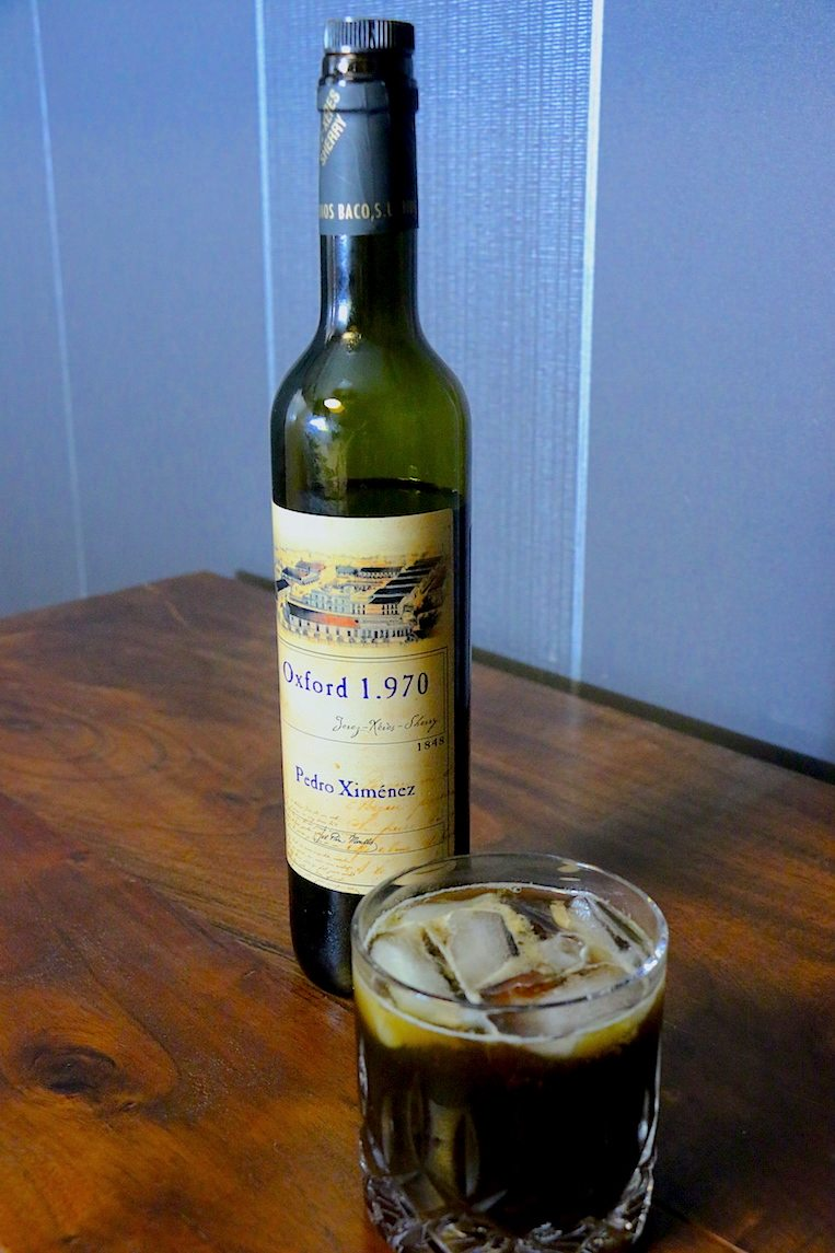 how to drink dry sherry