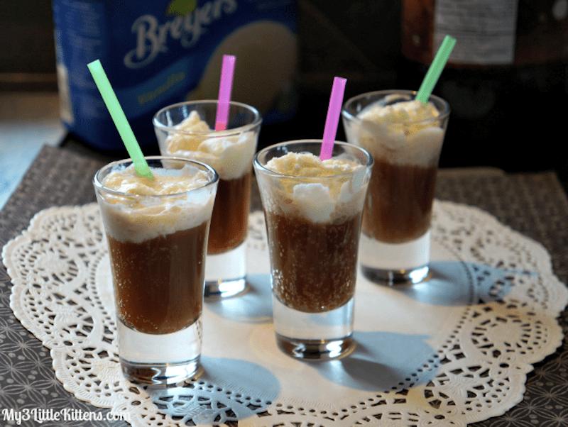Root Beer Granita Float Recipe — Dishmaps