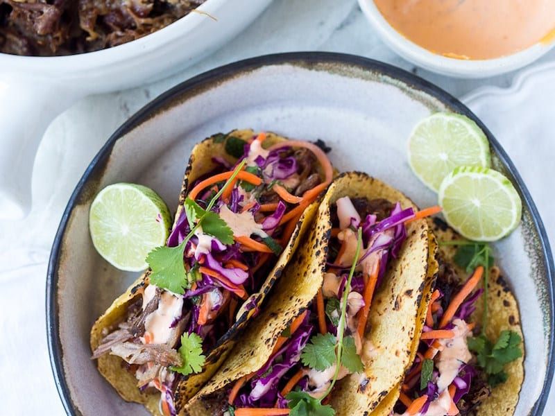 Five Spice Pulled Pork Tacos – Honest Cooking