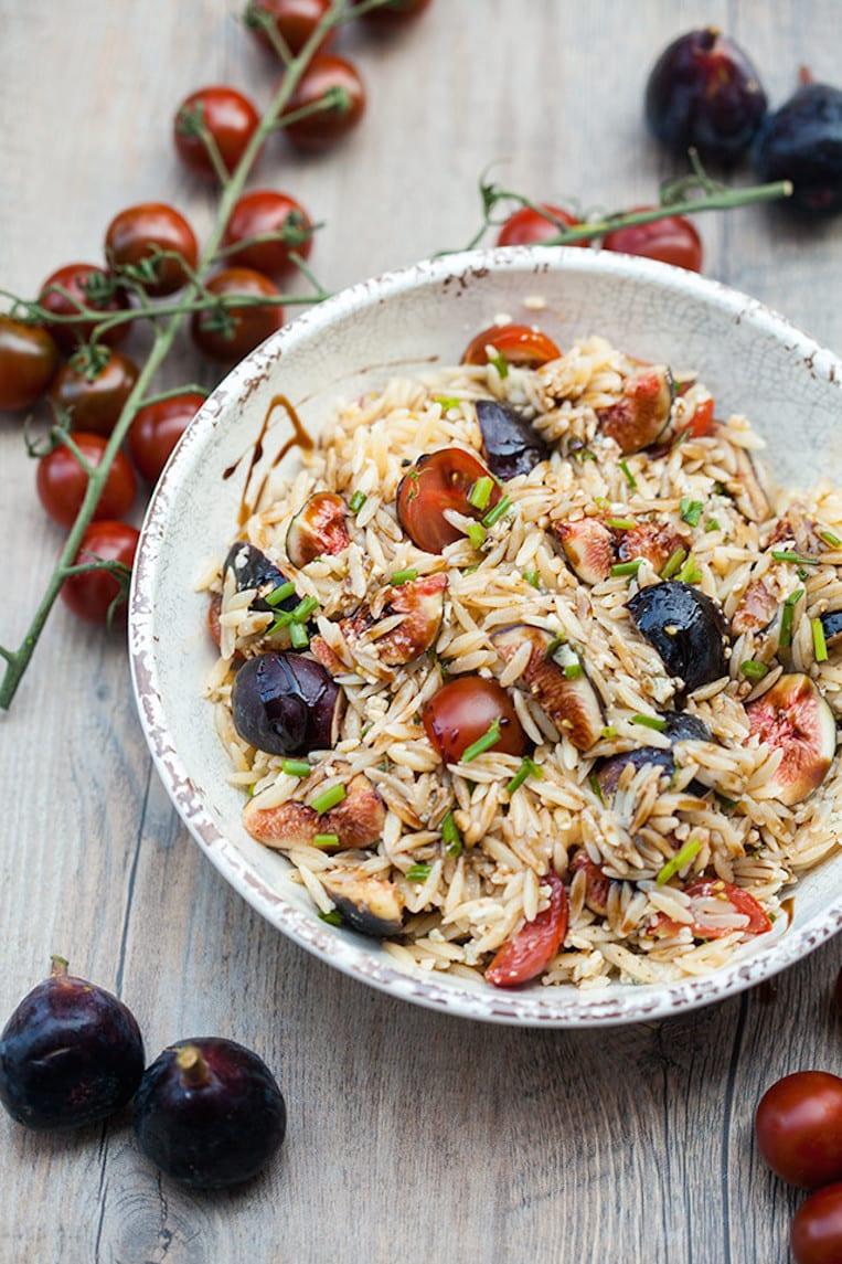 Fig Orzo Salad