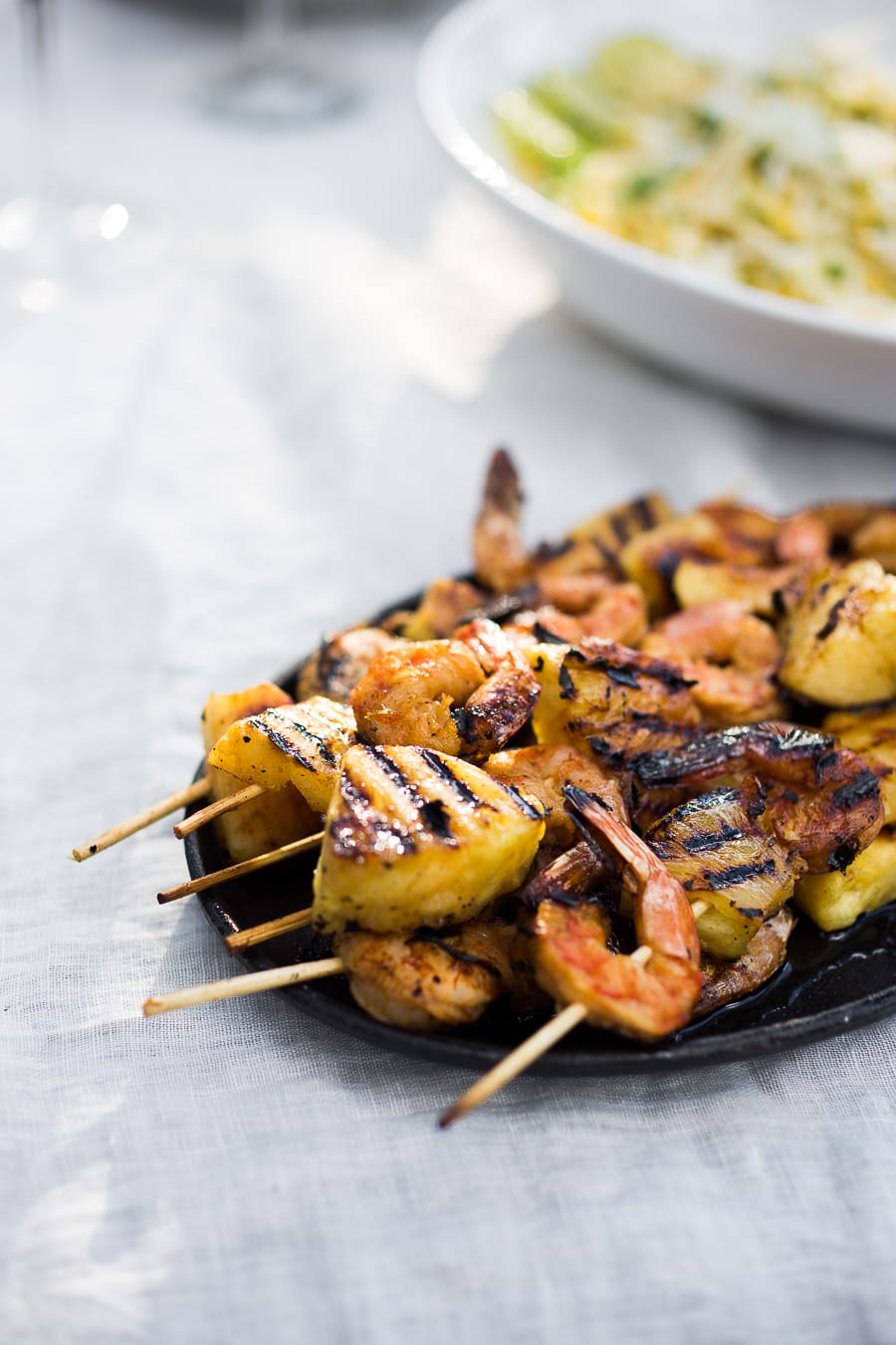 Yummy, Easy Pineapple Skewered Shrimp Recipe — Dishmaps