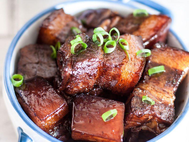 Braised Soy Sauce Pork Belly – Honest Cooking