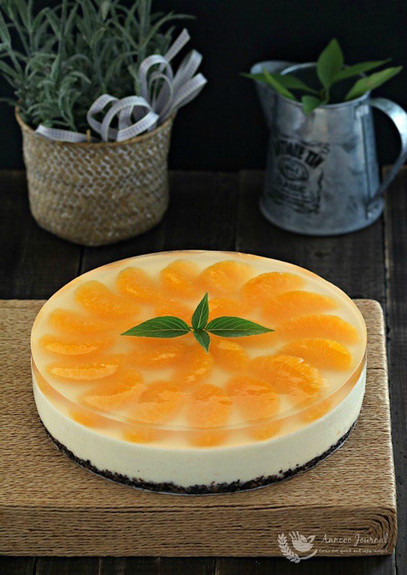 Simple No-Bake Orange Cheesecake – Honest Cooking