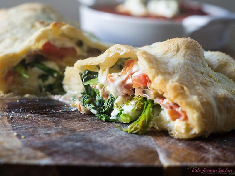 Broccoli Rabe and Ricotta Calzones – Honest Cooking