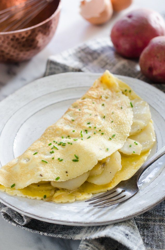 Easy Potato Omelette