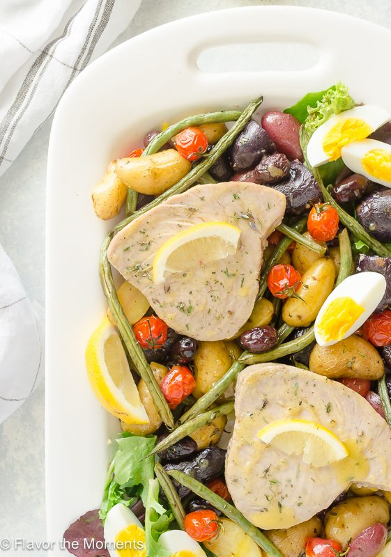 Easy Potato and Tuna Nicoise
