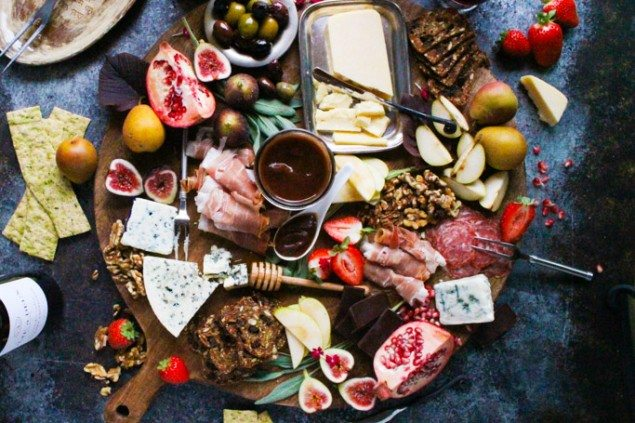 Perfect Fall Harvest Cheese Board with Apple Butter