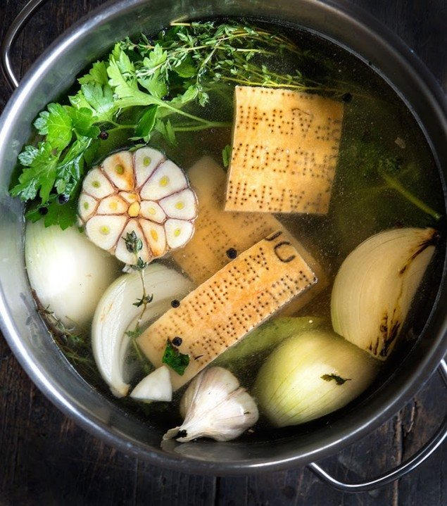 Brodo: Homemade Parmesan Broth