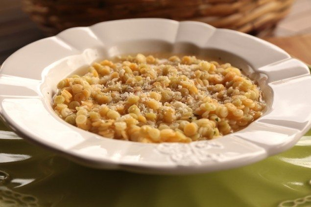 Pastina with Homemade Vegetable Broth