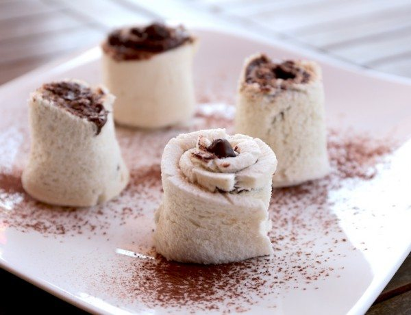 Chocolate and Hazelnut Tramezzini