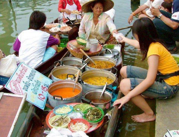 floating market image