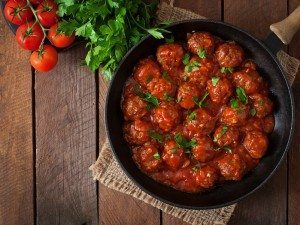 Make Italian Style Meatballs with Buca Di Beppo