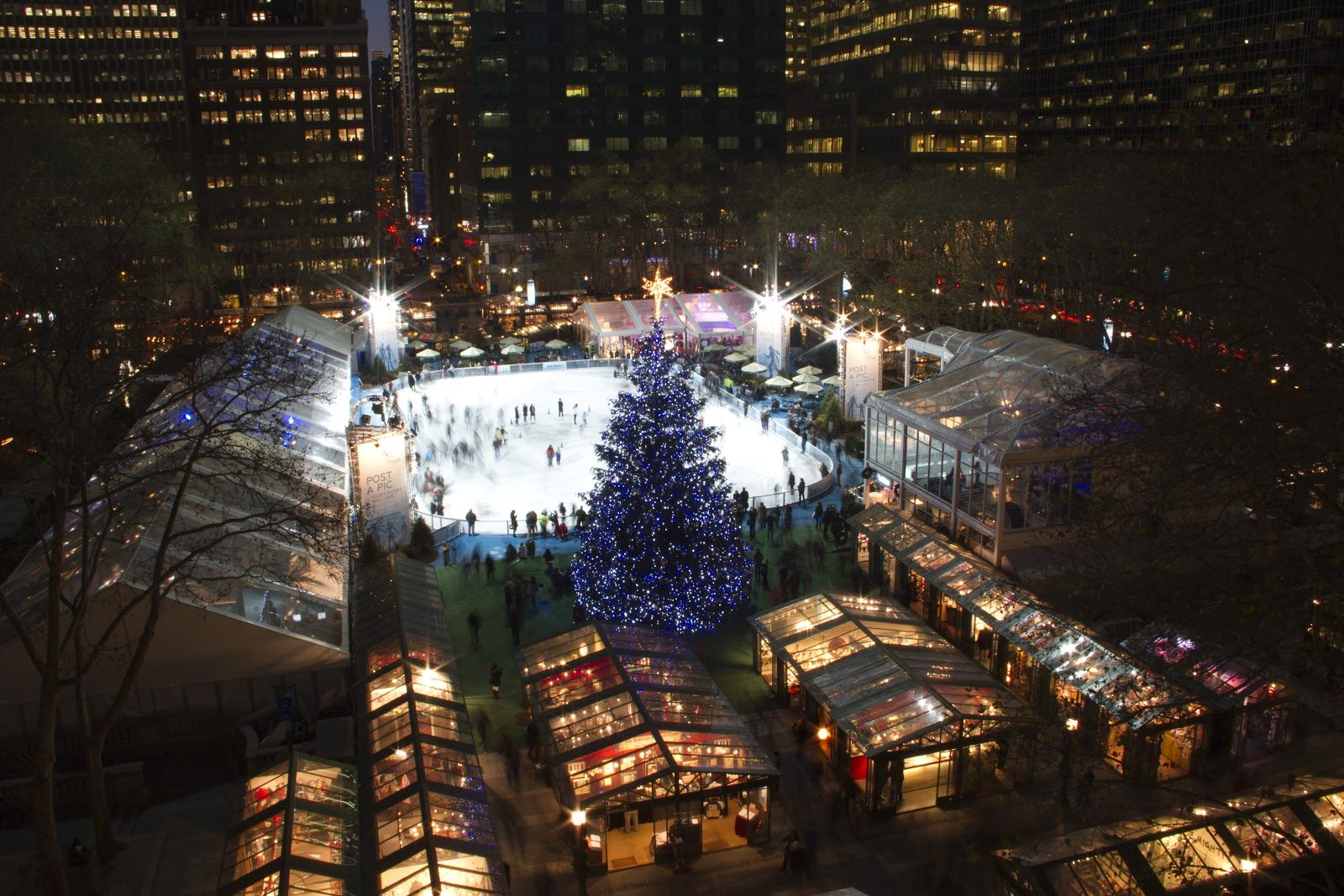 Christmas Tree Lighting In New York