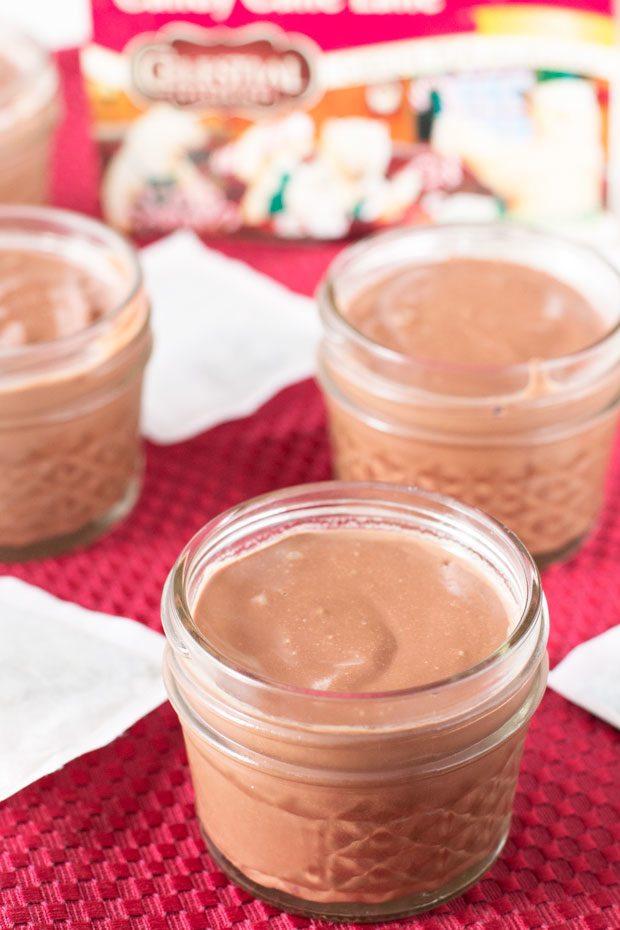 ... custard-based desserts like these chocolate peppermint pots de creme