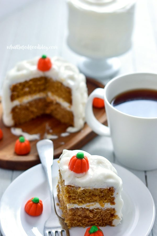 Gluten Free Mini Pumpkin Cake