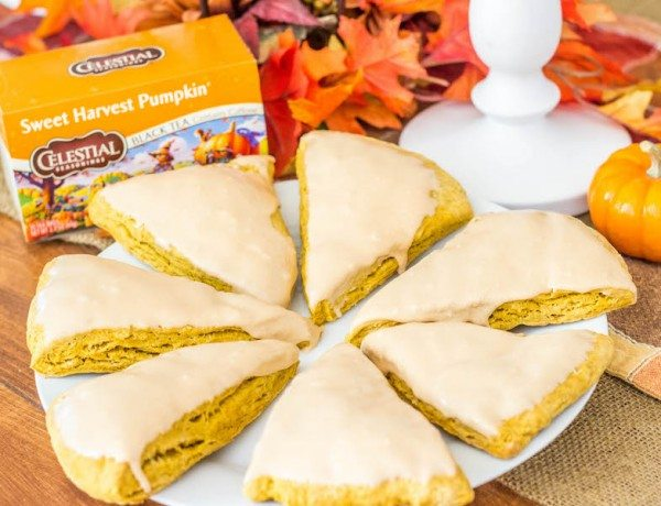 Harvest Pumpkin Scones-7