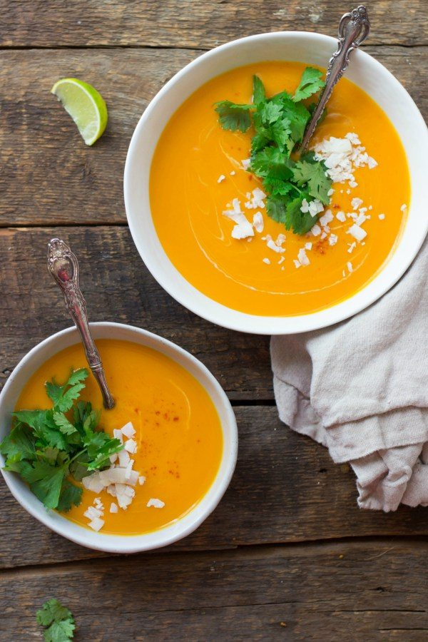 Thai Curry Sweet Potato Soup