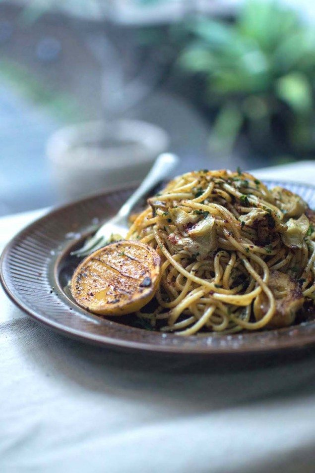 Brown Butter Pasta with Lemon and Anchovies