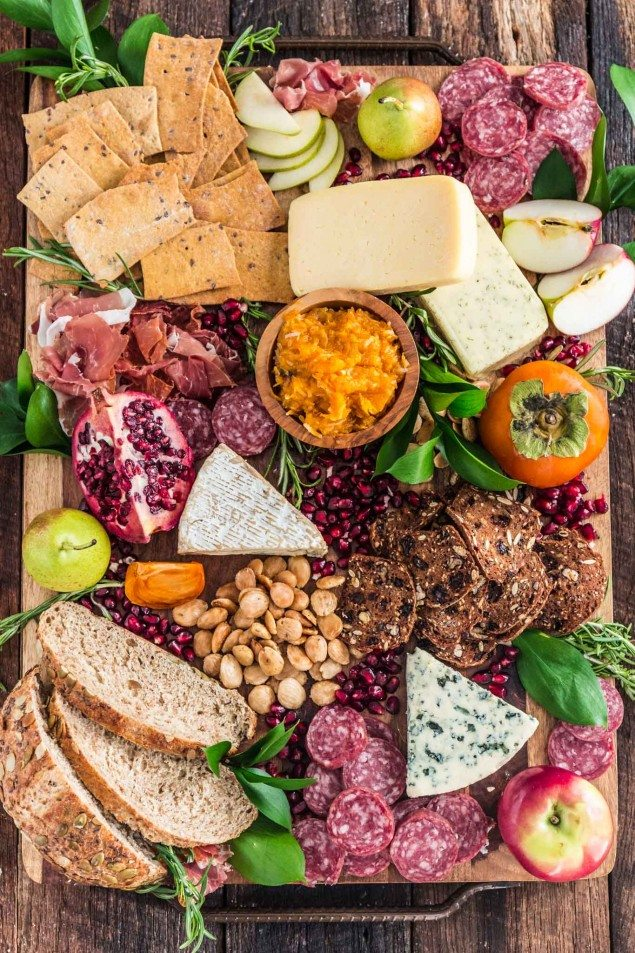 Party-Ready Fall Cheese Board