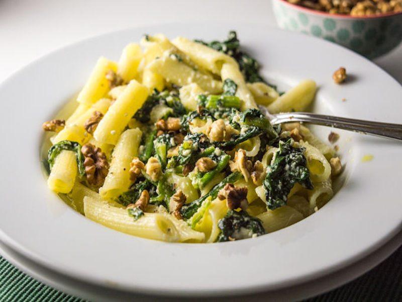 pasta-w-spinach-ricotta-walnuts-2