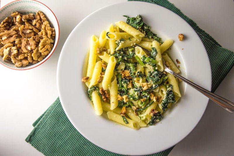 pasta-w-spinach-ricotta-walnuts-3-1
