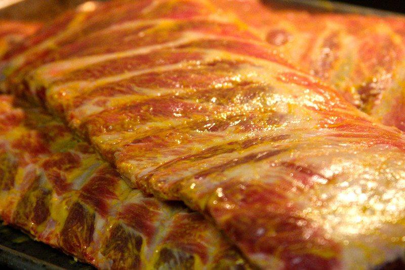 raw ribs