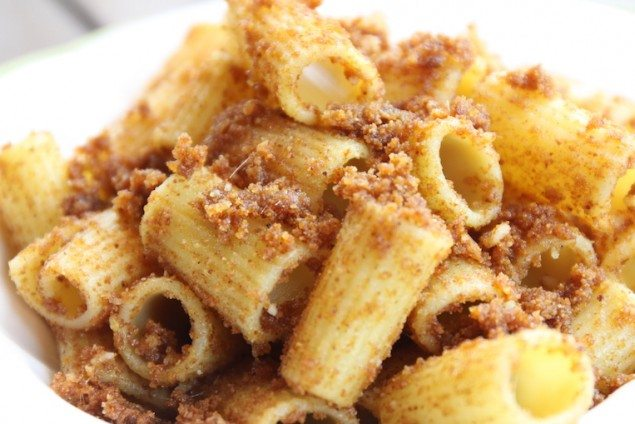 Palermo's Breadcrumb Pasta with Anchovies