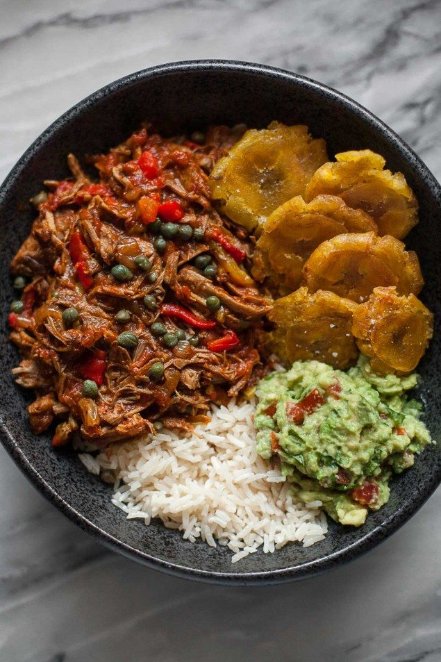Slow Cooker Ropa Vieja: Cuban Beef