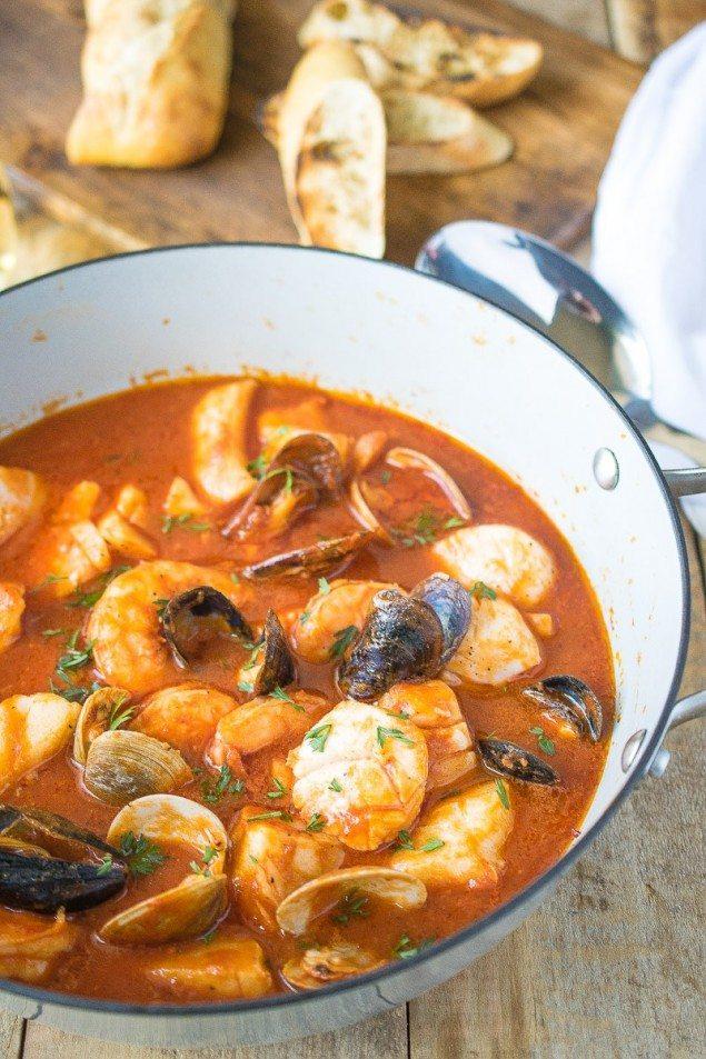 Brodetto di Pesce: Tomato Seafood Broth