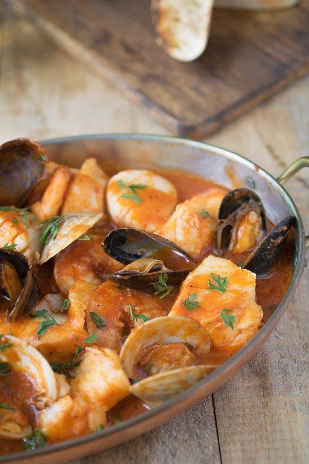 Brodetto-diBrodetto di Pesce: Tomato Seafood Broth